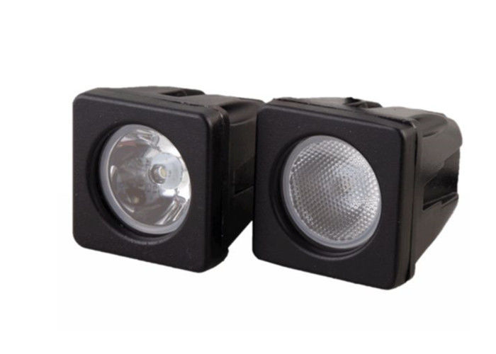 Combo Beam Square LED Off Road Driving Lights 6500K Die Casting Housing