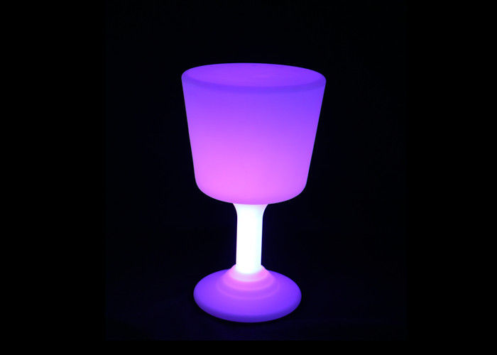 PE Anti - Aging LED Illuminated Furniture Recyclable Led Light Up Chairs