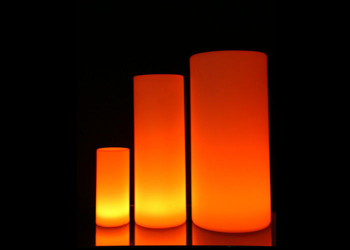 Cylindrical  LED Illuminated Furniture Coffee Cylindrical LED Night Light
